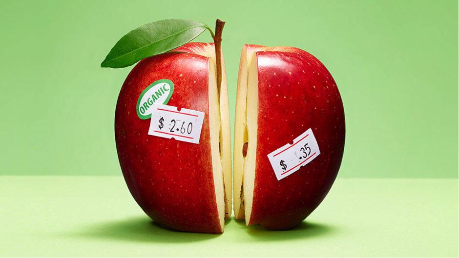 Organic Food Prices Compared To Conventional